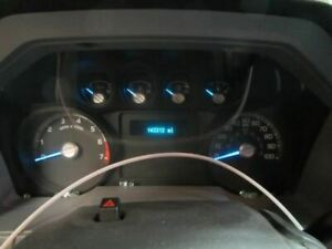 11 Ford F250sd Speedometer Cluster Mph
