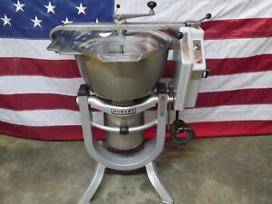 Very Clean Refurbished Hobart Hcm450 Hcm 450 Vertical Mixer Cutter Vcm