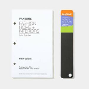 Pantone Color Specifier Guide Supplement For Fashion Home Interiors 202