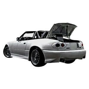 For Mazda Miata 90 97 Rear Bumper Lip Under Air Dam Spoiler Vader Style