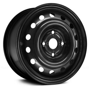 For Suzuki Forenza 04 08 Replace 14 Hole Black 15x6 Steel Factory Wheel Replica