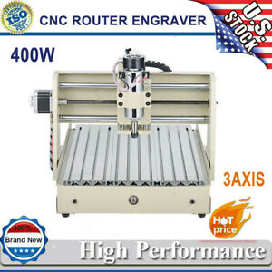 3axis 400w 3040 Cnc Router Engraver Engraving Drilling Milling Machine 3d Cutter