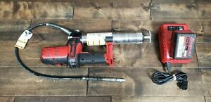 Snap On Tools 18v Lithium ion Cordless Grease Gun W Battery Charger