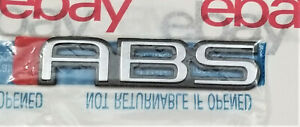 Nos Oem Chevy Caprice Classic Abs Trunk Emblem 10188892