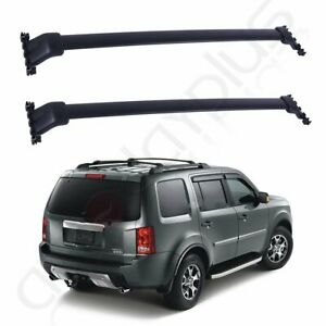 Fit For Honda Pilot 2013 2014 Roof Rack Side Rails Luggage Carrier Bars Aluminum