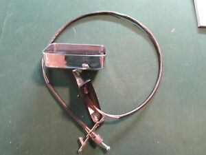 Vintage Ford Chrome Side Mirror 60546401 Great Chrome W Control