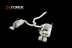 Xforce 3 Cat back Exhaust With Varex Muffler For Subaru Wrx Sti Sedan 2015