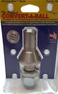 Convert A Ball 1 Inch 106b Packaged Solid Stainless Steel Shank 3
