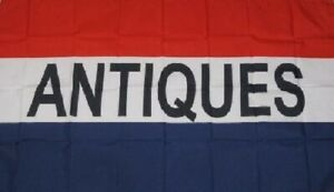 Antiques Flag Antique Store Banner Advertising Pennant Business Sign New 3x5