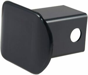 New Plastic Trailer Hitch Tube Cover Plug Cap 2 X 2 Inch Receiver Opening Black