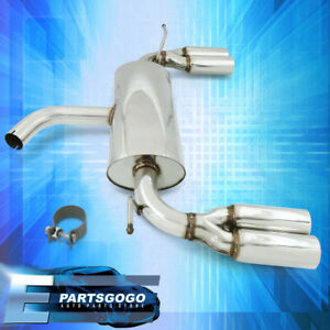 For 06 09 Golf Gti 2 0t Stainless Performance Quad Axle Back Exhaust Catback