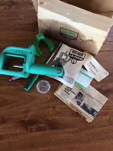 Vintage RCBS JR 3 Reloading Press w All Parts Instructions 1976 Insert $199.99
