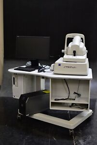 Carl Zeiss Stratus Oct Medical Optometry Unit Video Monitor Table