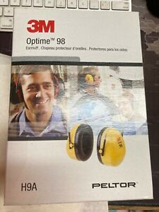 3m Peltor Optime 98 Earmuffs H9a 08091 Over the head Lot Of 10 New