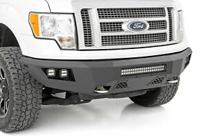 Rough Country Ford Heavy duty Front Led Bumper 09 14 F 150