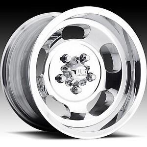 4 Staggered 15x7 15x10 Us Mags Indy U101 Polished 5x4 5 5 50 Wheels Rims
