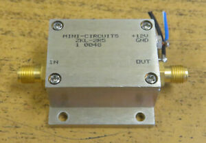 Mini circuits Sma Medium Power Amplifier 10 2500mhz Zkl 2r5