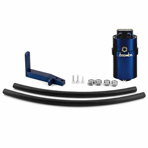 Boomba Racing Stage 2 Oil Catch Can Kit Pcv Blue For 2013 Ford Focus St