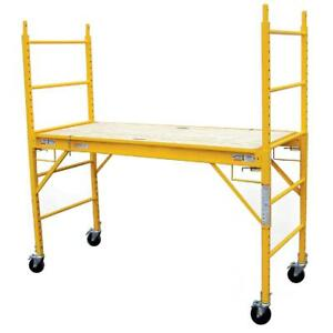 Pro series 6 Multipurpose Functional Steel Professional Indoor out Scaffolding