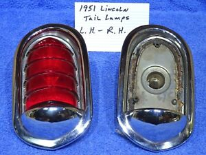 1951 Lincoln Tail Lamps