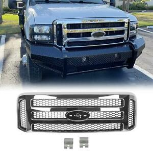 2006 Style Chrome Grill Grille Conversion Fits 1999 2004 Ford F250 F350 F450