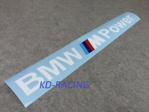 Bmw M Power Windshield Decal Sticker 1m M2 Cs M3 M4 M5 Competition Free Shipping