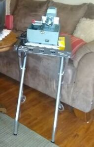 Vintage Overhead Projector Table no Scratches Or Rust