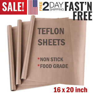 Large Teflon Sheet For Oven Or Pan Liner Baking Mat Heat Press Transfer Sheets