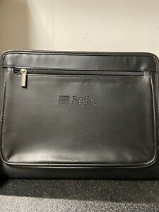 Leeds reynolds Notepad And Document files credit Card Holder Mini Briefcase
