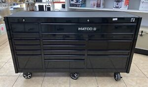 2018 Matco 4s 3bay 25 Powered Rollaway Tool Chest Box With Usb Ports Outlet