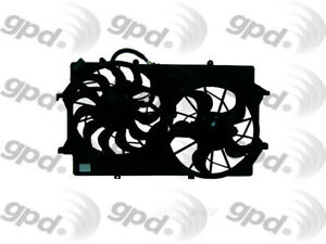 Engine Cooling Fan Assembly Fits 2003 2007 Ford Focus Global Parts