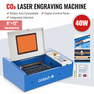 Preenex 12 8 40w Co2 Lcd Laser Engraving Cutting Carving Engraver Cutter K40