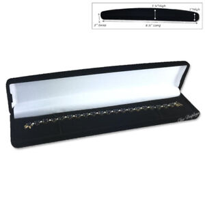 Black Velvet Bracelet Gift Box Bracelet Gift Box Velvet Watch Box Jewelry Box