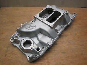 Edelbrock C454 Big Block Chevy Dominator Square Port Intake Manifold 396 502