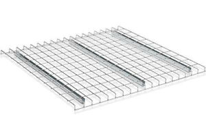 Individual Pallet Rack Wire Decking 46 Wide 42 Deep With Waterfall Edges