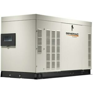 Generac Protector reg Series 25kw Automatic Standby Generator aluminum W