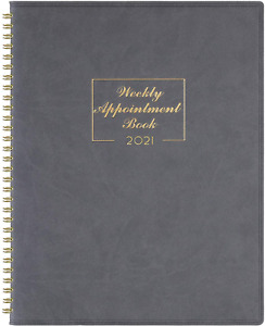 2021 Weekly Appointment Book Planner 2021 Daily Hourly Planner 8 4 X 10 6
