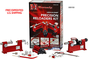 HORNADY Lock N Load Precision Reloaders Complete Accessory Kit 095150 USA MADE $998.97