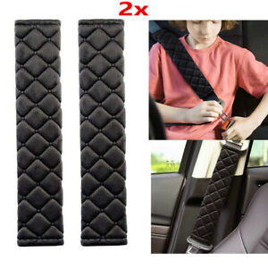 2pcs Car Safety Seat Belt Shoulder Pads Cover Cushion Harness Comfortable Pad