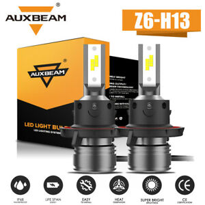 Auxbeam H13 Led Headlight High Low Beam For Dodge Ram 1500 2500 3500 2006 2012