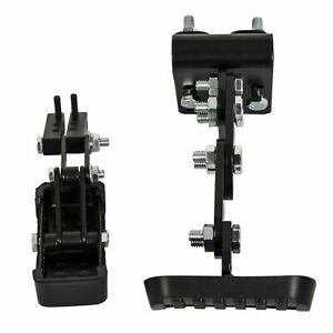 Black Gas And Brake Pedal Extenders For Cars Go Kart Ride On Toys