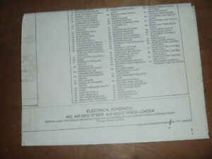 Case 450ct Track Loader Electrical Wiring Diagram Schematic Manual