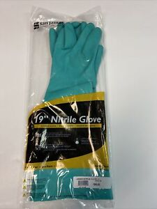 San Jamar 19nu m Medium 19 Nitrile Dishwashing Glove Pair