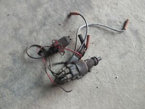 Farmall 460 Rowcrop Tractor Ih Engine Motor Distributor Drive Wires Tach Drive