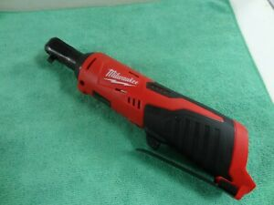 Milwaukee 2456 20 M12 Lithium Ion Variable Speed Trigger 1 4 Ratchet Tool Only