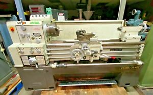 Victor 1640b Precision Gap Bed Engine Lathe 16 Swing X 40 Between Centers