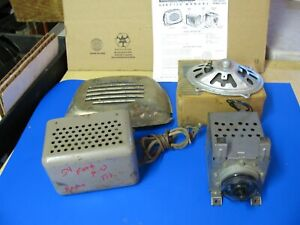 53 54 55 1953 1954 1955 Ford Truck Radio Serviced Repaired Working Complete