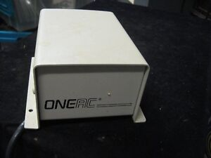 Vintage Oneac Transformer Power Supply