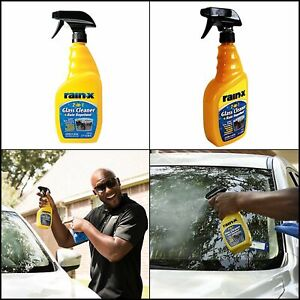 Rain X 2 In 1 Glass Cleaner Water Repellent Car Windshield Treatment Spray 23 Oz