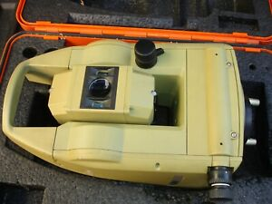 Leica Tc600 Conventional Surveying Total Station untested As Is